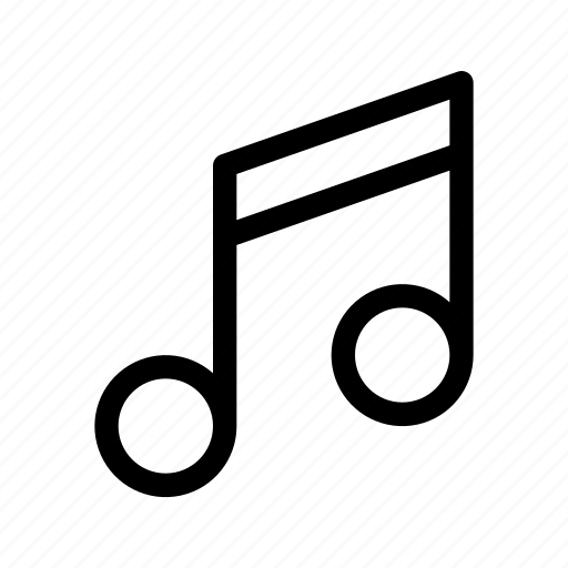 Audio, melody, music, note, sound icon - Download on Iconfinder