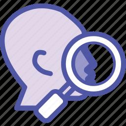 detail, fact based, myers briggs, sensing icon