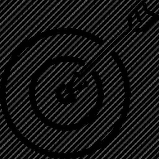 marketing, startup, targeting icon