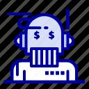 adviser, advisor, algorithm, analyst, robo icon