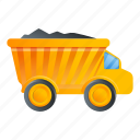 car, construction, dump, truck