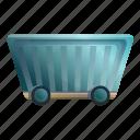 car, cart, mineral, wagon