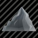 coal, mountain, retro