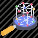 chemical analysis, fullerene analysis, fullerene monitoring, fullerene research, nanomaterials analysis icon