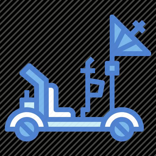 car, exploration, lunar, roving, transportation, vehicle icon
