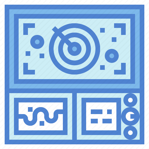 computer, control, monitors, screen icon