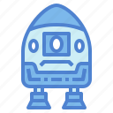 automobile, capsule, science, space, vehicle icon