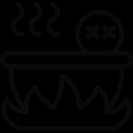 bath, boiling icon