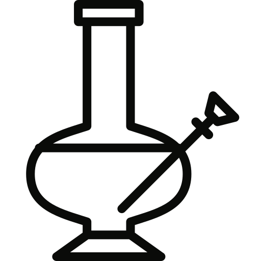 bong, pipe icon
