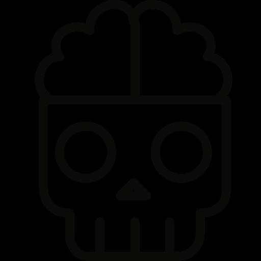 brain, dead icon