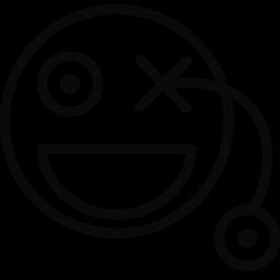 eye, glass icon