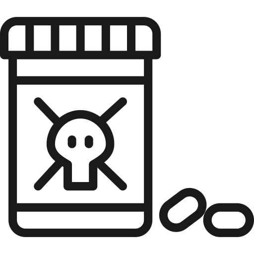 pills, poison icon