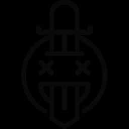 stabbing, sword icon
