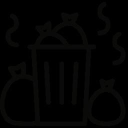 trash, waste icon
