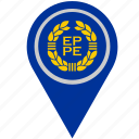 country, euro, europe, geo, location, pointer icon