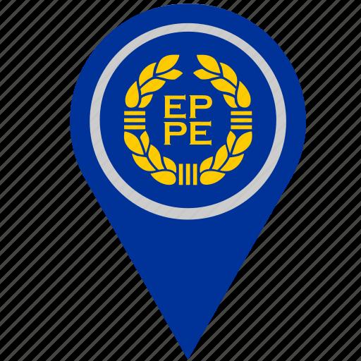 country, euro, europe, geo, location, pointer icon