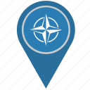 country, geo, location, nato, pointer, union icon