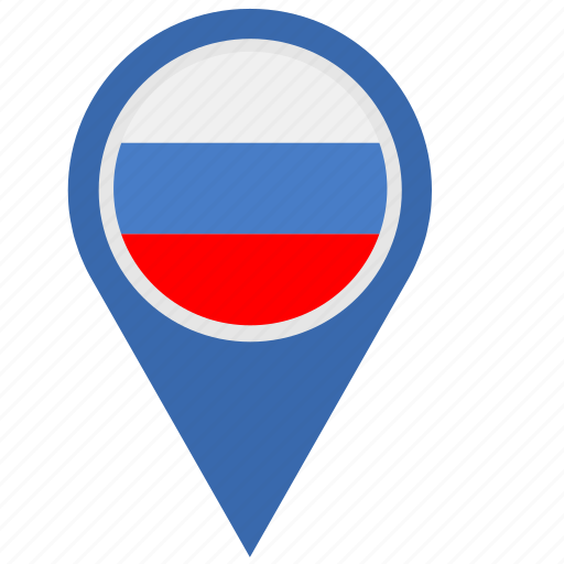 country, geo, location, pointer, rf, russia, russian icon