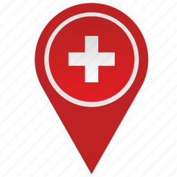 country, geo, location, pointer, swiss, switzerland icon