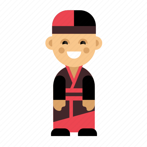 China, clothes, costume, culture, ethnic, people, taditional icon - Download on Iconfinder