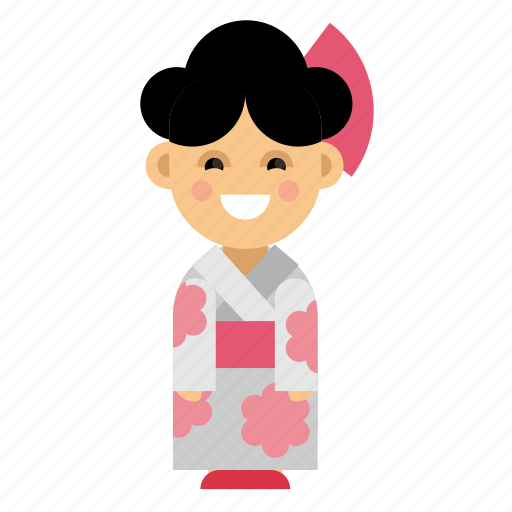 Clothes, costume, culture, ethnic, japan, people, taditional icon - Download on Iconfinder