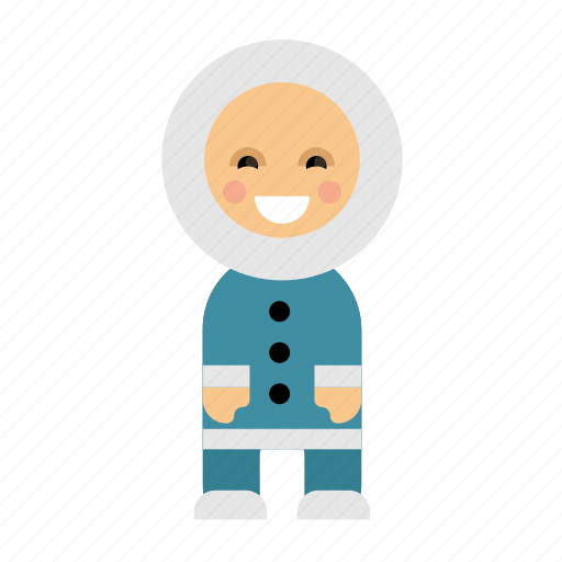 Clothes, costume, culture, escimo, ethnic, people, taditional icon - Download on Iconfinder