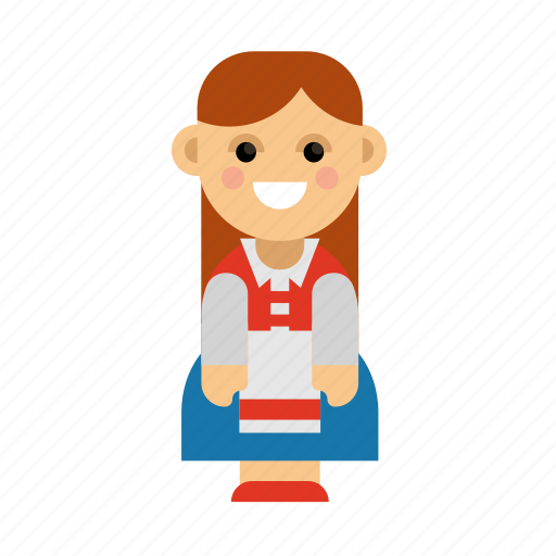 Clothes, costume, culture, ethnic, norway, people, taditional icon - Download on Iconfinder