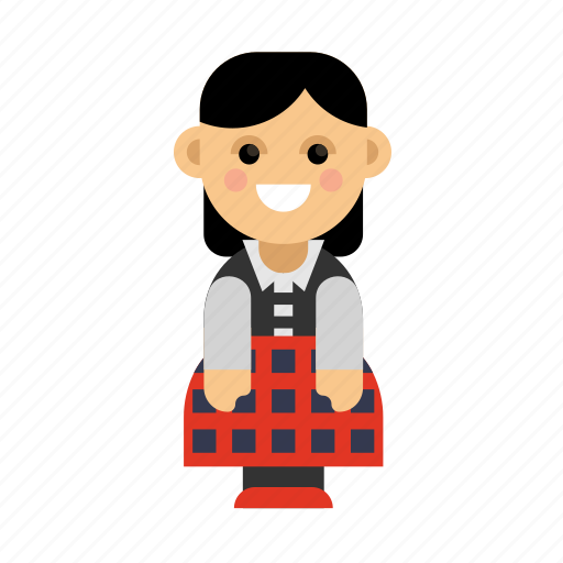 Clothes, costume, culture, ethnic, people, scotland, taditional icon - Download on Iconfinder