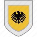 arms, emblem, flag, germany, shield icon