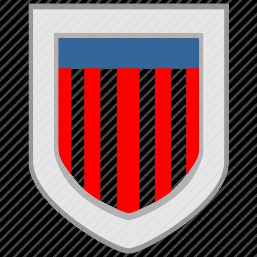 america, flag, shield, us, usa icon