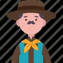 argentina, argentine, traditional, costume, man