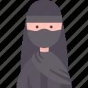 egyptian, costume, muslim, nationality, indigenous icon