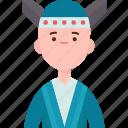 taiwanese, asian, man, national, costume
