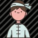 burmese, asean, costume, traditional, man
