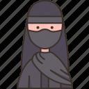 egyptian, costume, muslim, nationality, indigenous