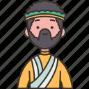 philippine, man, oriental, costume, nationality icon