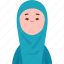 indonesian, muslim, lady, tradition, asean icon