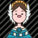 panamanian, panama, traditional, national, woman