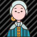 swedish, sweden, woman, folk, traditional