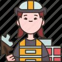 builder, construction, worker, contractor, engineer