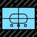 health, logistics, mechanized, military, nato, section, wheeled icon