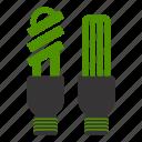 bulb, green, natural, basic, electric, energy, idea, lamp, nature, power
