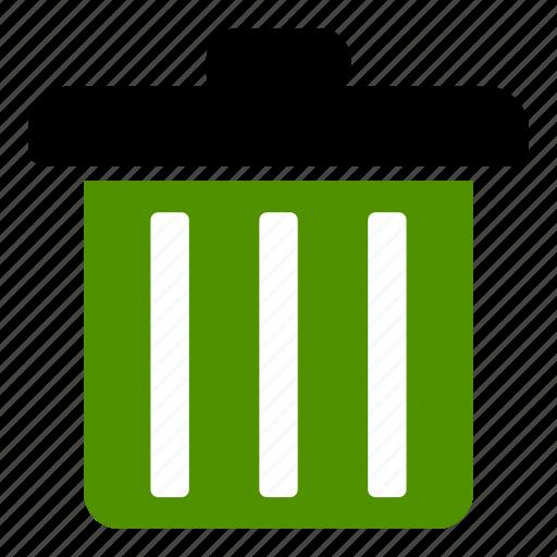 delete, dustbin icon
