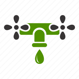 energy, green, natural, supply, water icon