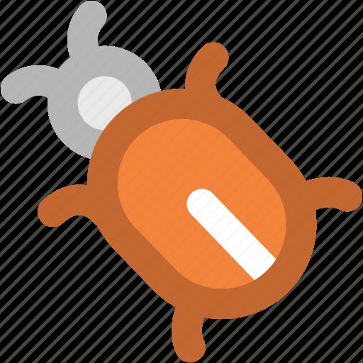 animal, antivirus, biology, bug, garden ladybug, insect, virus, virus bug icon