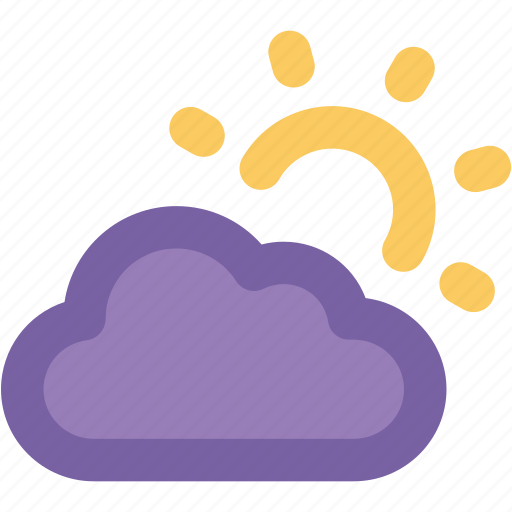 cloudy, pronostic, sun and cloud, sunrise, sunset, weather, winter icon