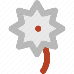bloom, blossom, flower, flower and leaf, macro flower icon