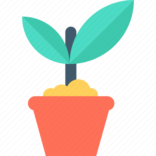 greenery, nature, plant, plant pot, plantation icon