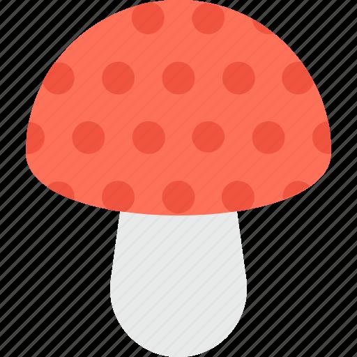 Food, fungi, healthy, mushroom, toadstool icon - Download on Iconfinder