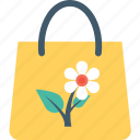 bag, farm, flower, garden, tote bag icon